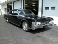 '65 Lincoln Continental Convertible